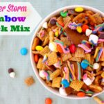 Summer Storm Rainbow Snack Mix