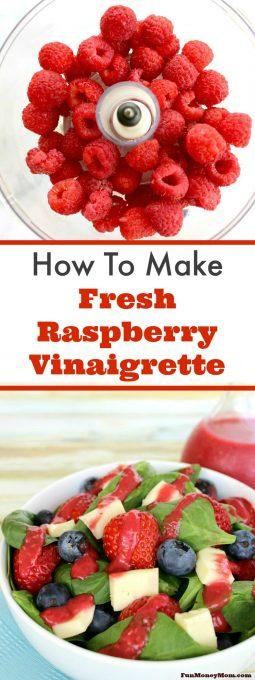 Fresh Raspberry Vinaigrette Pinterest