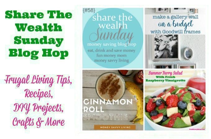 Join us for our weekly Share The Wealth Blog Hop, live every Saturday at 7PM!