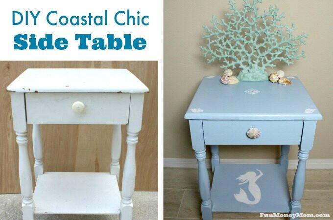 Coastal table feature