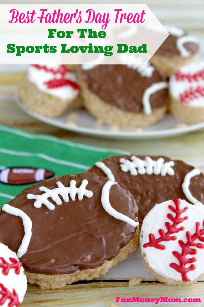Don't get dad another boring tie for Father's Day! What your sports loving dad really wants are these delicious treats!
