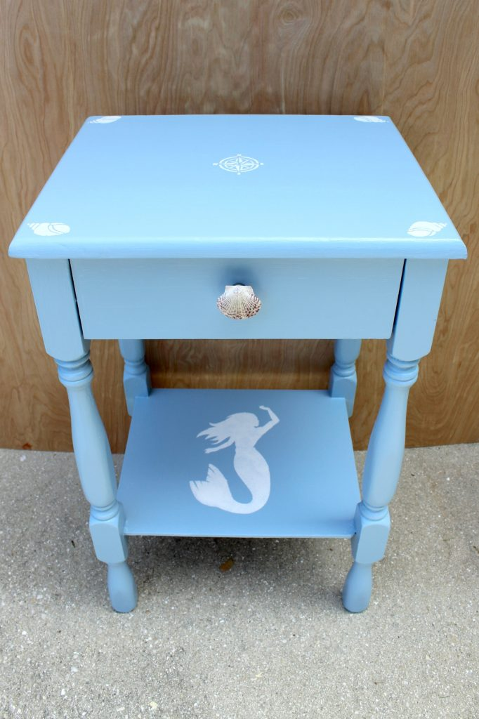 DIY-coastal-chic-side-table-collage-after