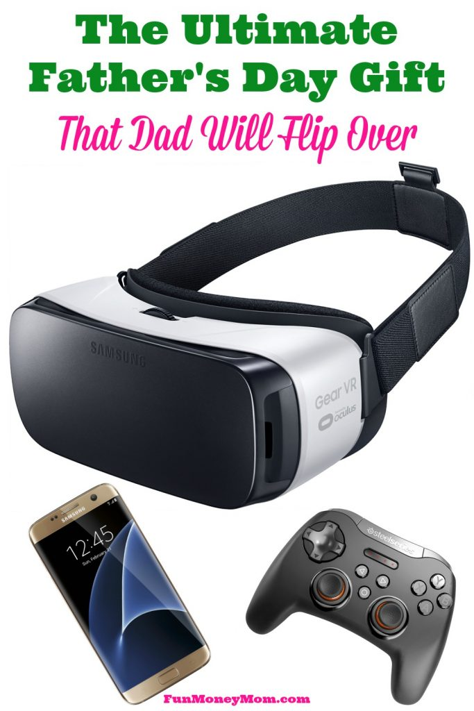 Want to give dad the ultimate Father's Day gift? This Gear VR opens up a whole new world of mobile virtual reality!