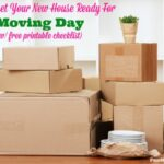 How to get your new house ready for moving day (w/ free printable)
