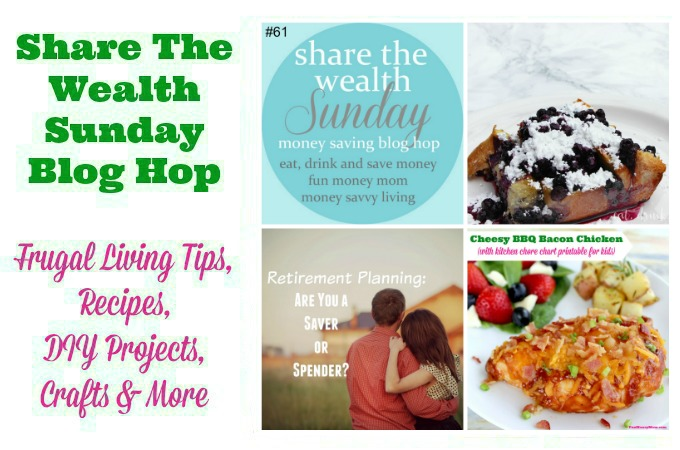 Share The Wealth Sunday Blog Hop #61