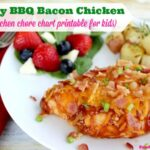 Cheesy BBQ Bacon Chicken