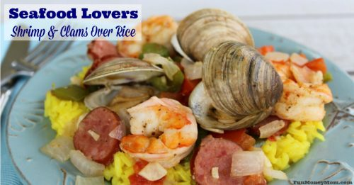 shrimp and clams over rice facebook