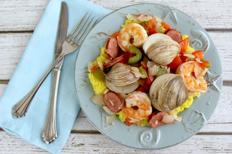 shrimp-clams-rice-above