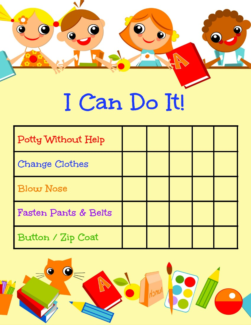 ready-for-pre-k-chart