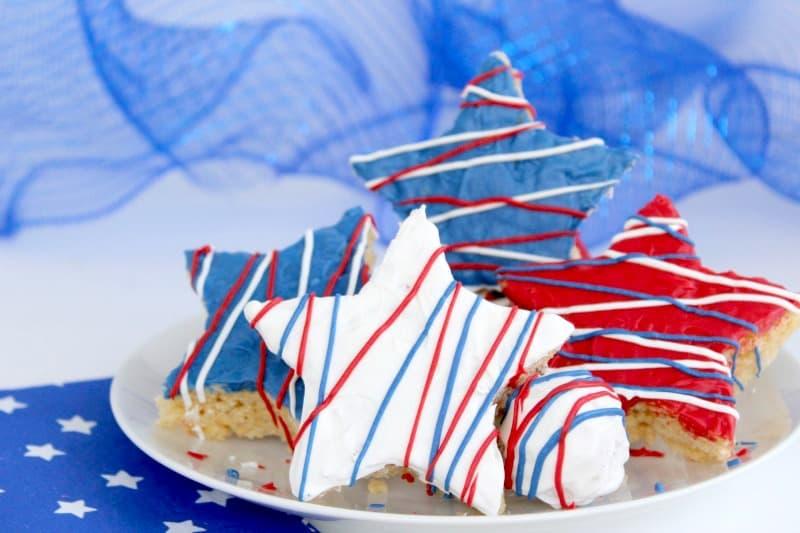 4th Of July Marshmallow Treats