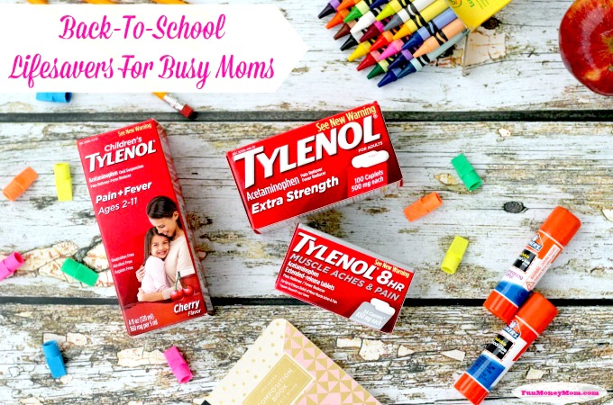 Back To School Lifesavers For Busy Moms