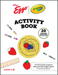 Strawberry-whipped-cream-waffles-activity-book