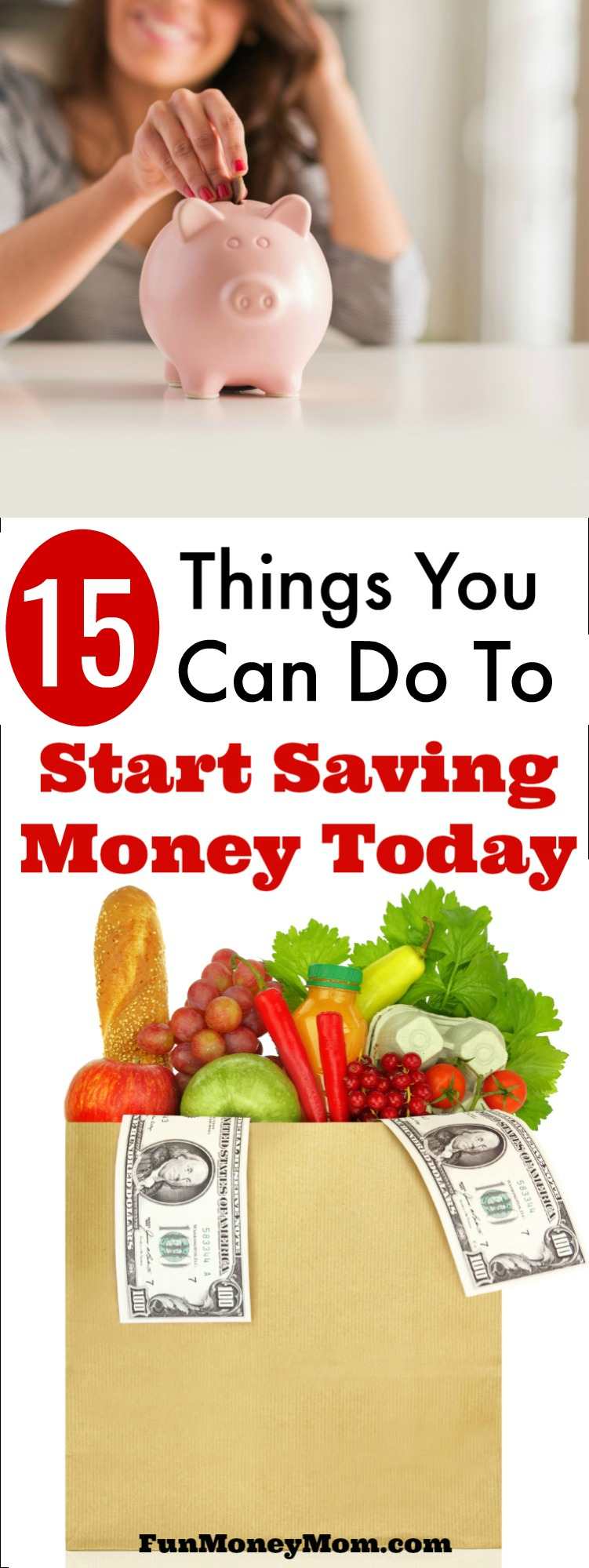 Need to tighten your budget? These 15 frugal living tips can help you start saving money today!
