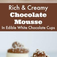 Rich & Creamy Chocolate Mousse Cups