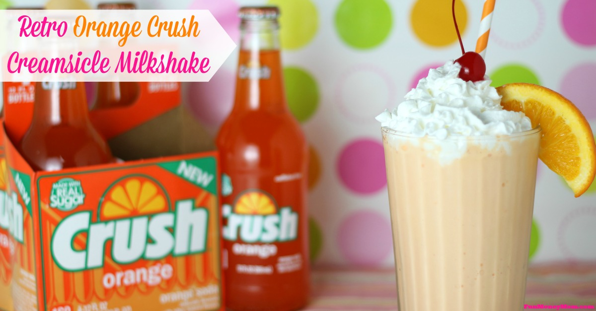 Orange Crush Creamsicle Milkshake