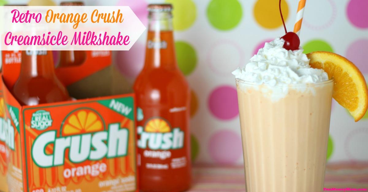 Orange Crush Creamsicle Milkshake