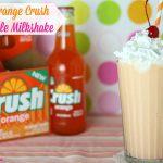 Retro Orange Crush Creamsicle Milkshake