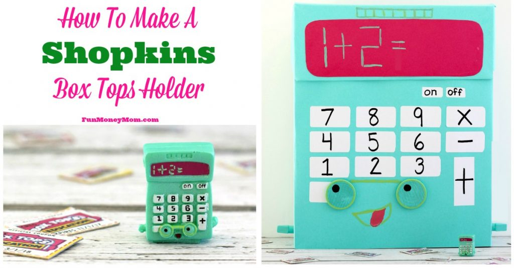 Cute Ideas For Valentine's Day Boxes: Shopkins Calculator