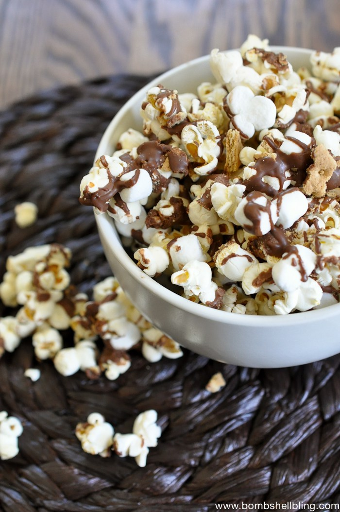 s'mores twists popcorn