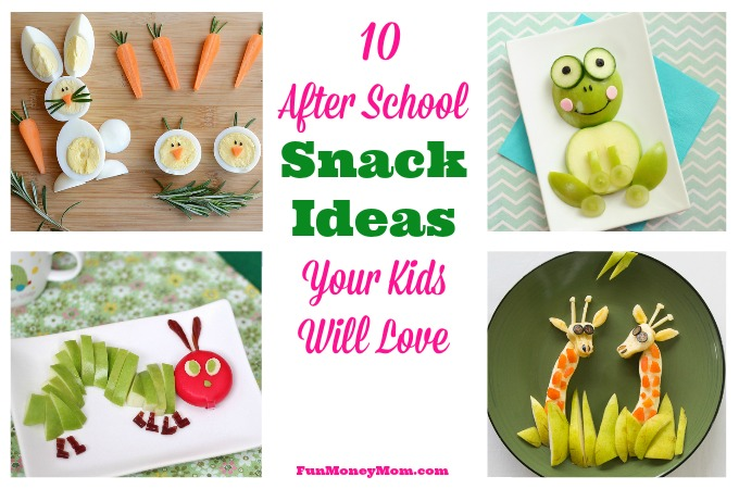 10 After School Snack Ideas Your Kids Will Love