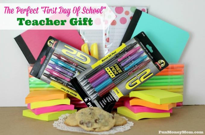 """The Perfect """"First Day Of School"""" Teacher Gift"""