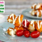 Easy 20 Minute Buffalo Chicken Kabobs