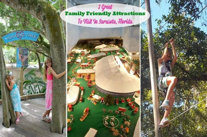 Family Friendly Attractions In Sarasota, Florida