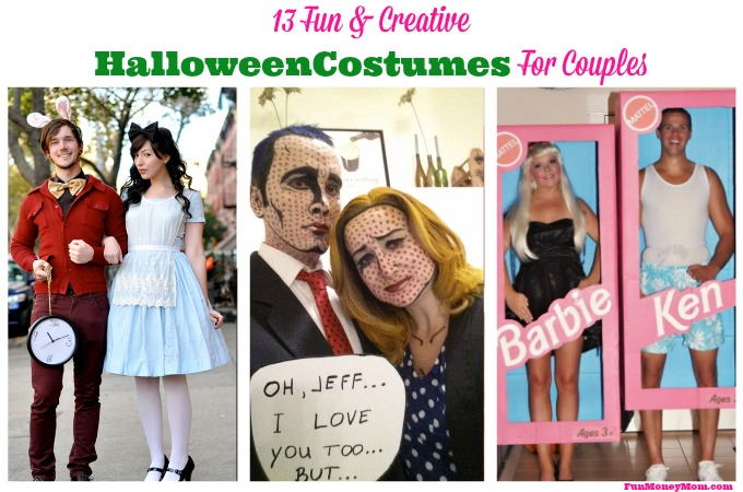 13 Fun & Creative Halloween Costumes For Couples