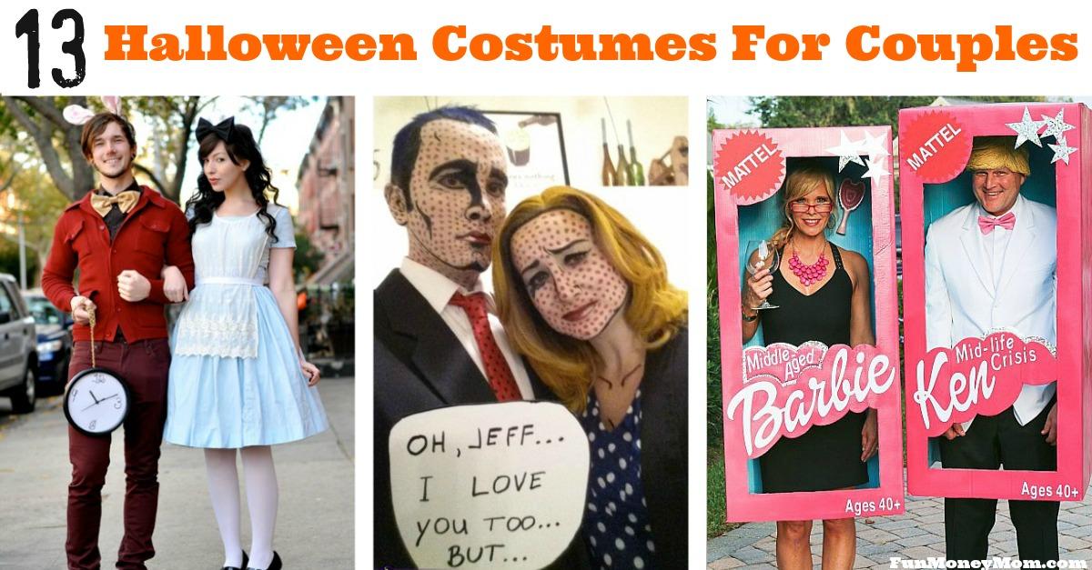 13 Creative Couples Costumes For Halloween , Fun Money Mom