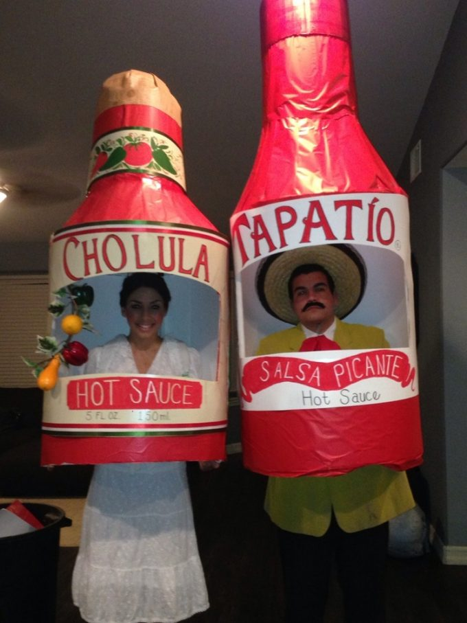 Hot Sauce Halloween costumes for couples