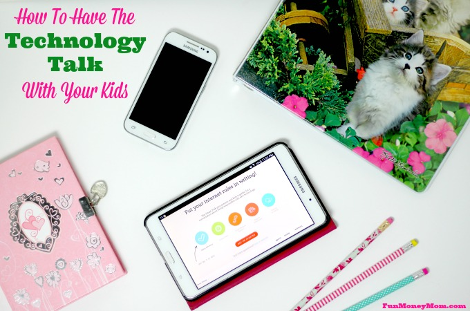 How To Have The Technology Talk With Your Kids
