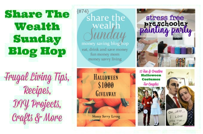 Share The Wealth Sunday Blog Hop #74