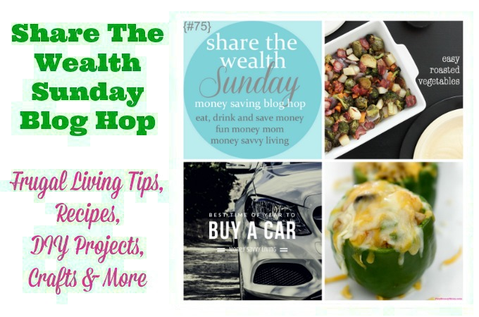 Share The Wealth Sunday Blog Hop #75
