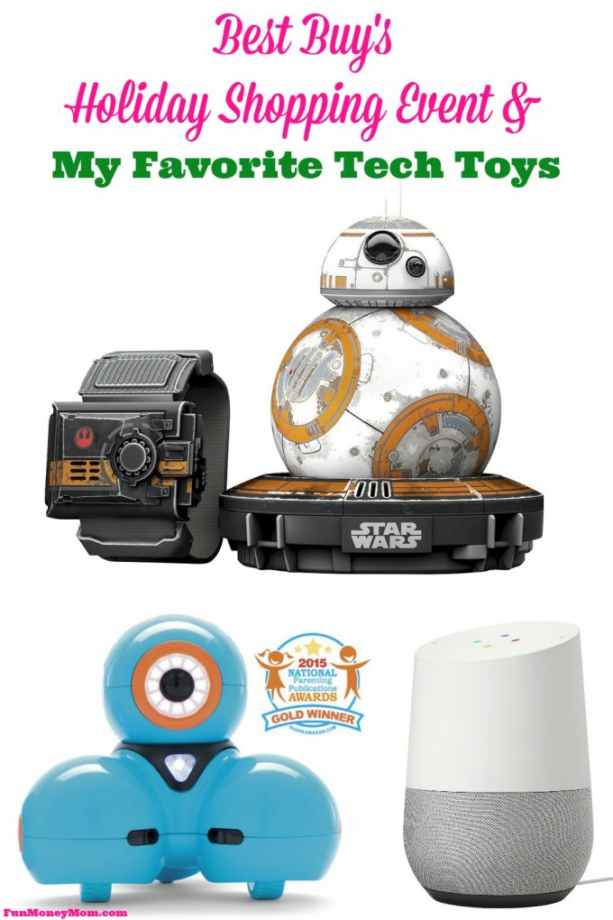 Do you love holiday shopping as much as I do? If so, you're not going to want to check out this sale and all the latest tech toys! #GiftingMadeEasy #ad @BestBuy