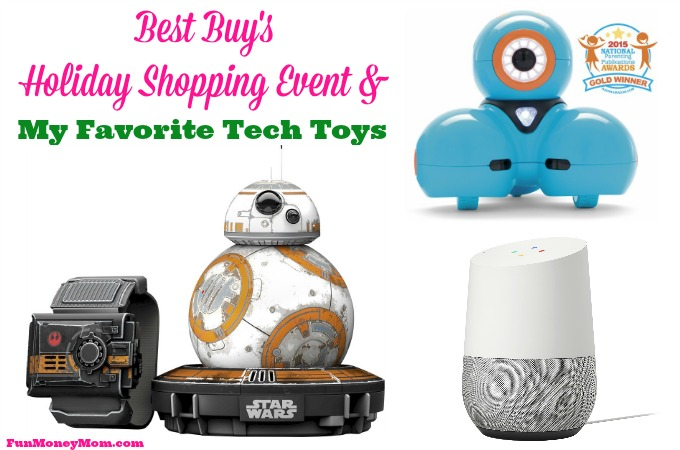 Best Buy's Holiday Shopping Event & My Favorite Tech Toys