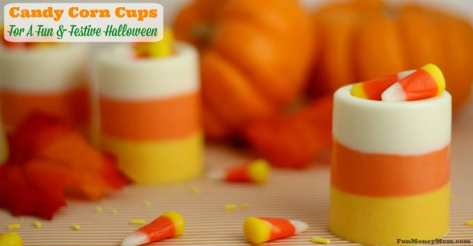 Edible Candy Corn Cups