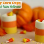 Edible Candy Corn Cups For A Fun & Festive Halloween
