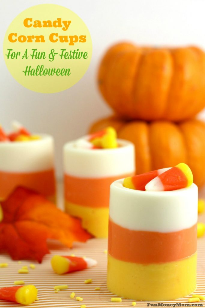 Looking for a fun Halloween treat to share with friends, serve at a party or add to a BOO basket? These delicious Candy Corn Cups are perfect!
