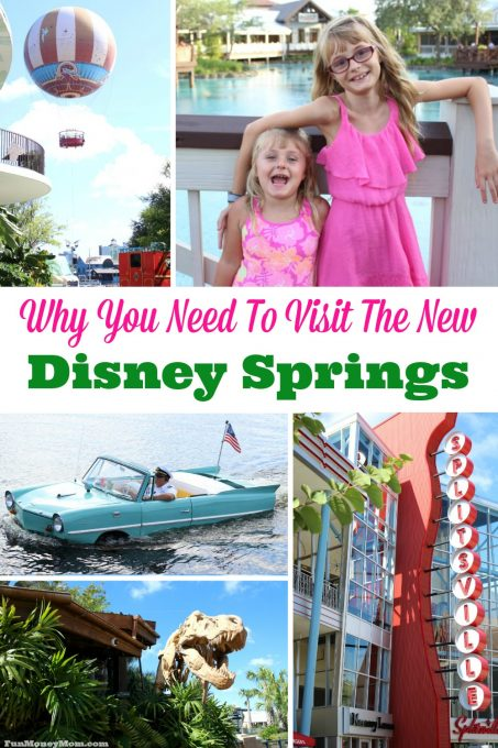 Have you been to the new Disney Springs yet? If not, here's why you're going to love it!