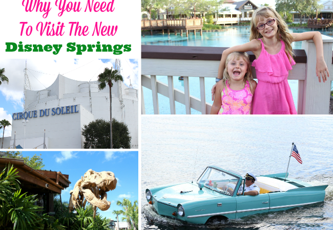 Why You Need To Visit The New Disney Springs