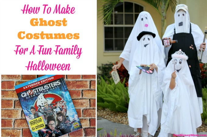 How To Make Ghost Costumes For A Fun Family Halloween