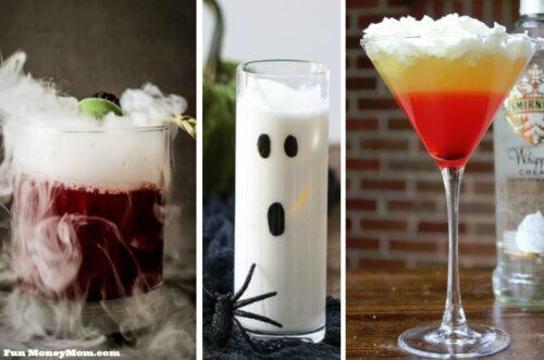 Halloween cocktails feature