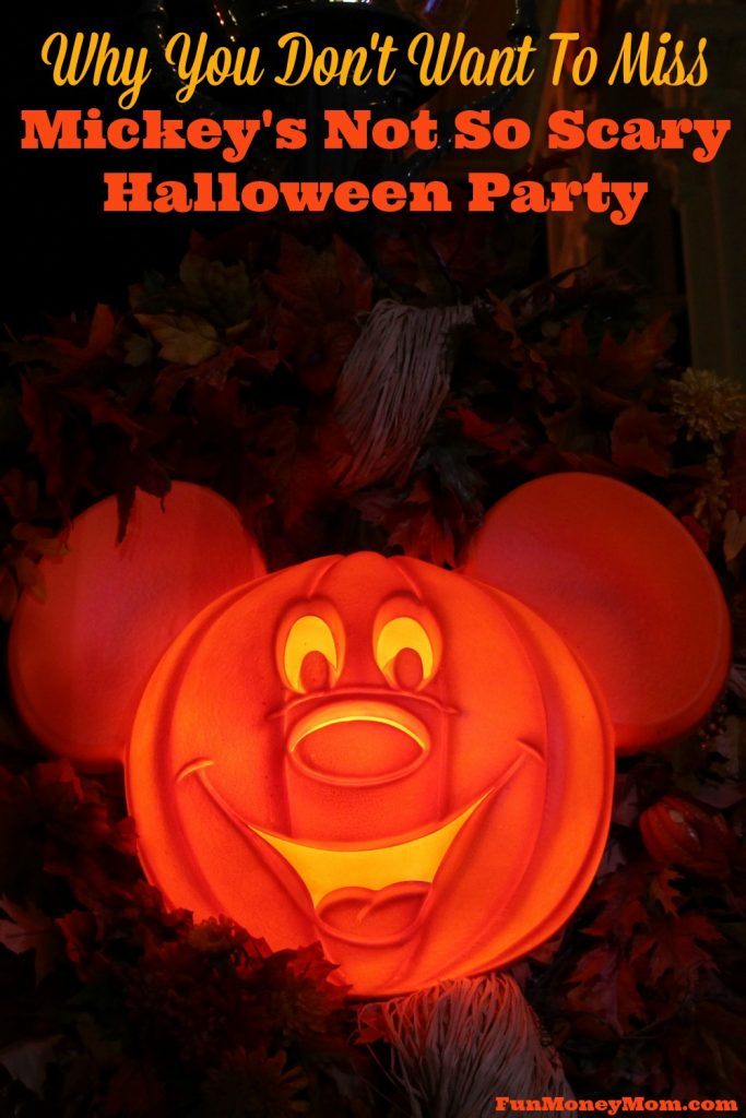 Haven't been to Mickey's Not So Scary Halloween Party? Here's why you don't want to miss it.