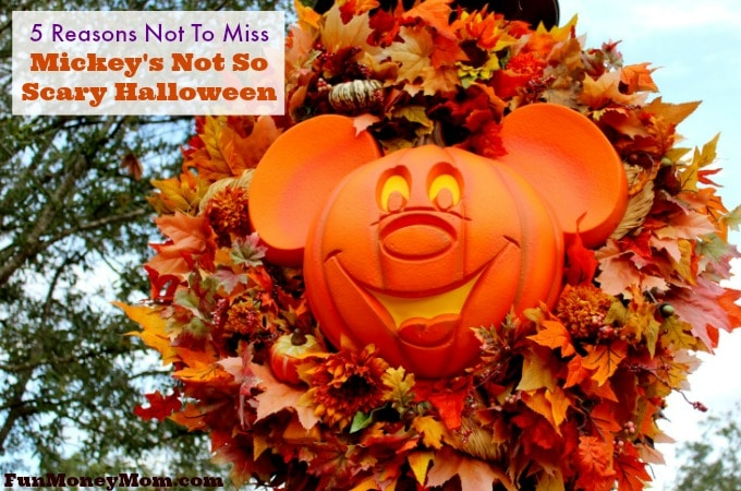 Mickey's Not So Scary Halloween Party feature