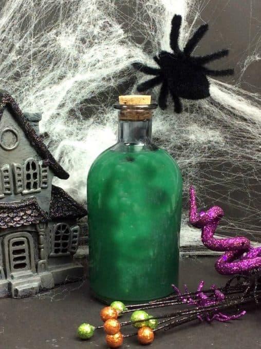 Green Goblin Halloween Cocktails