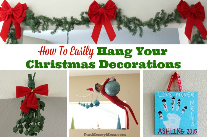 How To Easily Hang Your Christmas Decorations