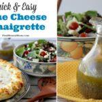 Quick & Easy Blue Cheese Vinaigrette