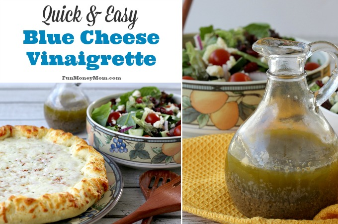 Quick & Easy Blue Cheese Vinaigrette