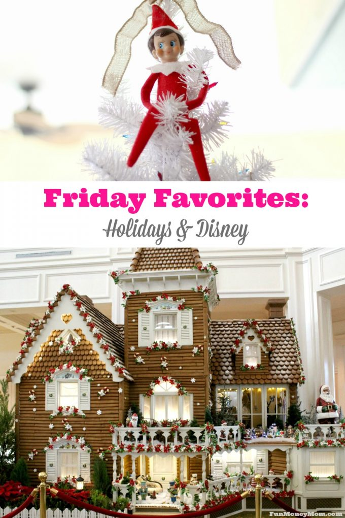 Can it get any better than the holidays and Disney? Check out my Friday Favorites to find out what I'm loving this week!