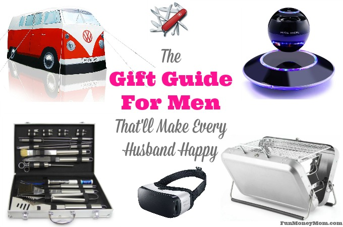 The Gift Guide For Men That'll Make Every Husband Happy